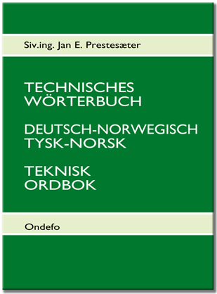 Technisches Wörterbuch Deutsch-Norwegisch